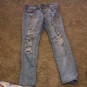 Denim - Mid rise jeans